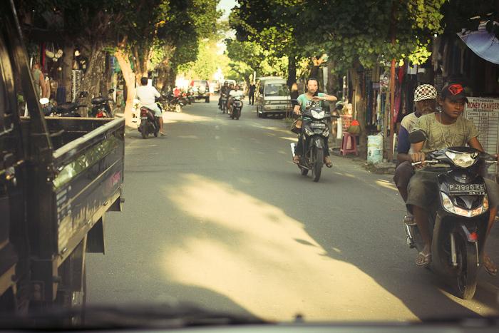 Культура и жизнь острова Бали: Дороги Бали