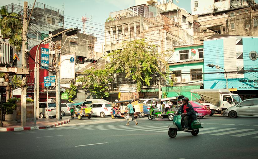 Проездом через Бангкок, Таиланд.