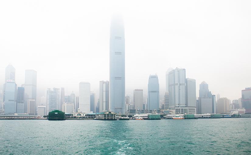 Первое впечатление о Гонконге.