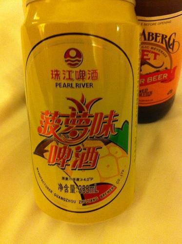 Подборка забавных азиатских продуктов: пиво со вкусом ананаса