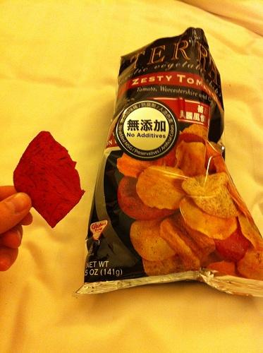 Подборка забавных азиатских продуктов: чипсы из корнеплодов