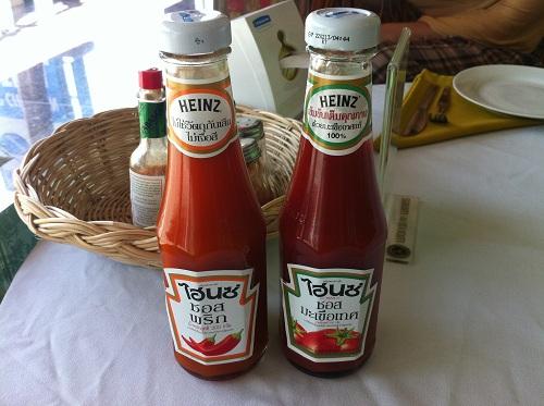 Подборка забавных азиатских продуктов: тайский острый Heinz