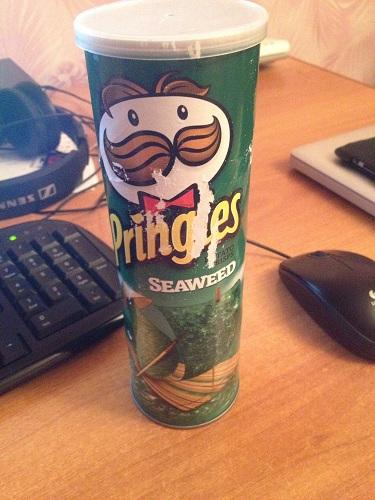 Подборка забавных азиатских продуктов: Принглс со вкусом водорослей