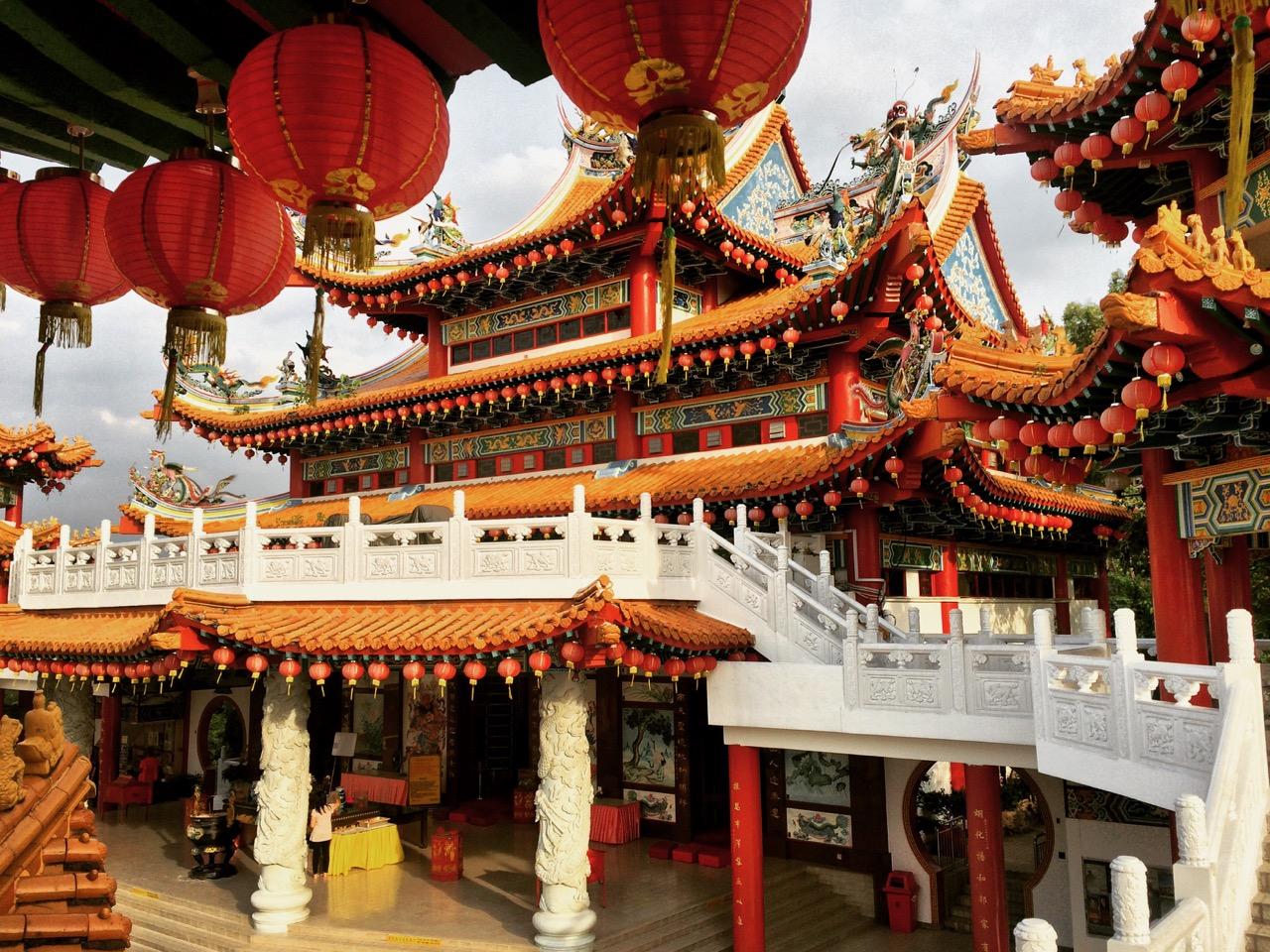 Путешествие по Малайзии: Китайский храм в Куала-Лумпуре