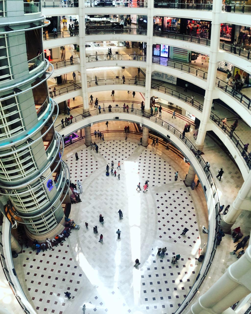 Путешествие по Малайзии: Торговый центр Suria KLCC