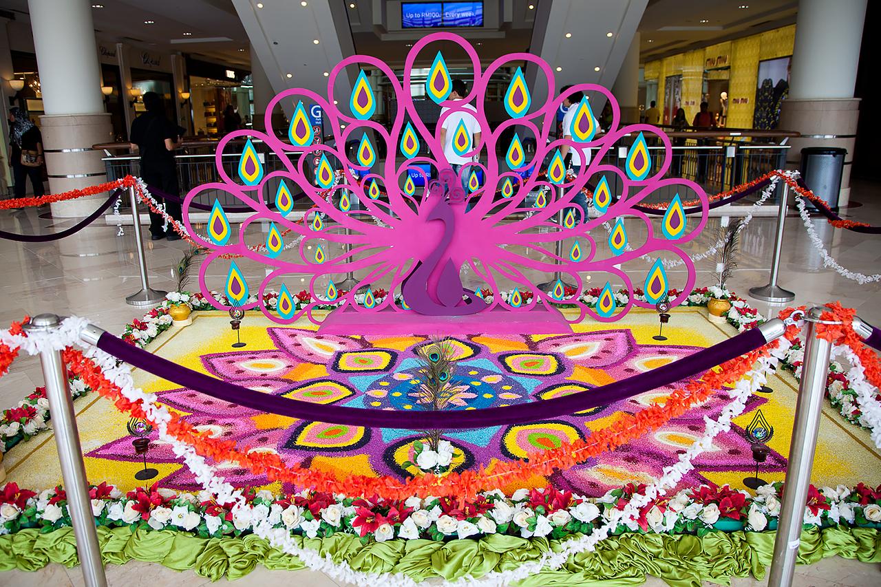 Путешествие по Малайзии, Куала-Лумпур: Украшение к празднику Дивали