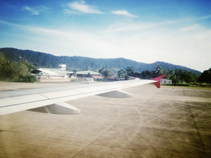 Как добраться до острова Липе: Посадка на острове Лангкави