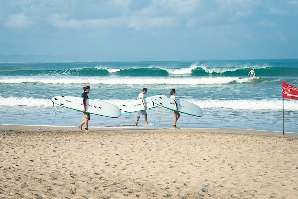 Пляжи Бали: Кута