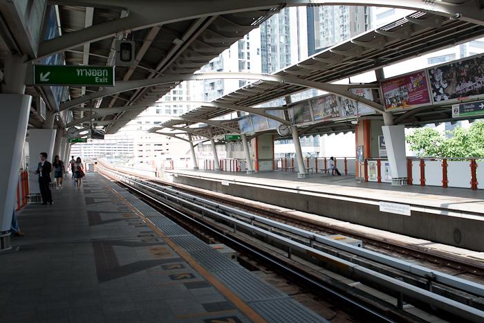 На платформе, Бангкок