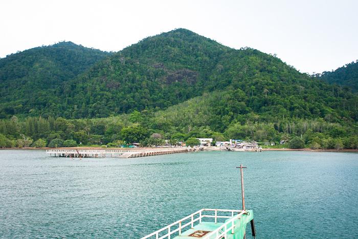 Причал. Остров Чанг, Таиланд