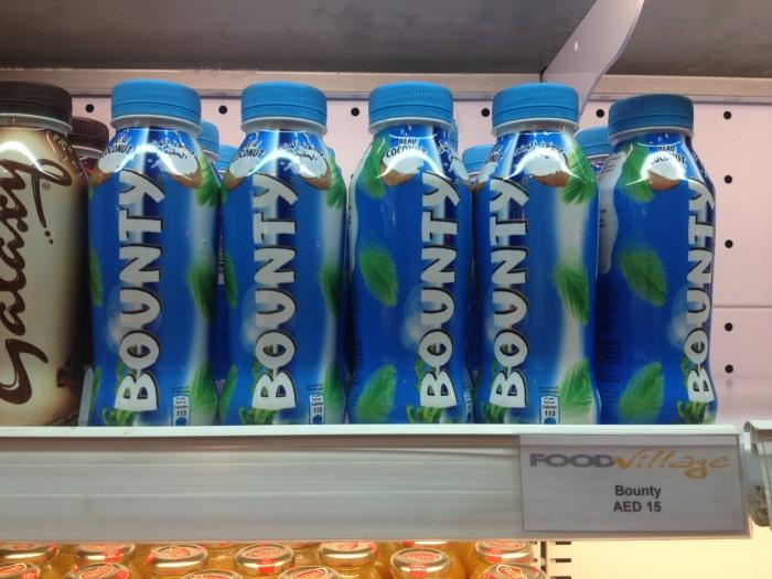 Подборка забавных азиатских продуктов: напиток Bounty