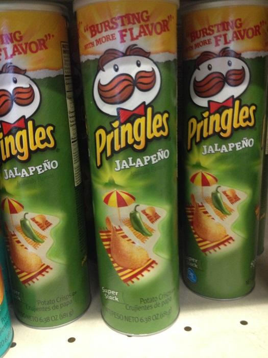 Подборка забавных азиатских продуктов: чипсы Принглс халапеньо