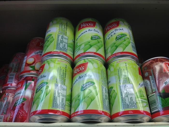 Подборка забавных азиатских продуктов: напиток из сахарного тростника