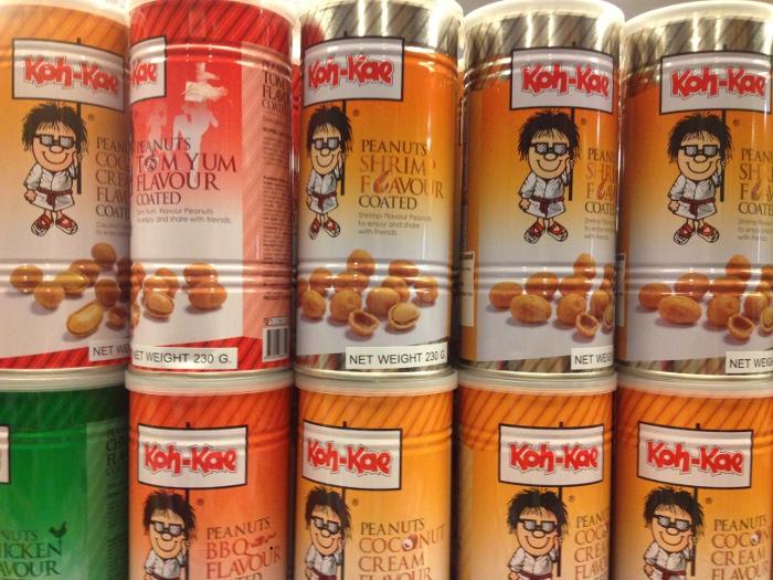 Подборка забавных азиатских продуктов: арахис с интересными вкусами