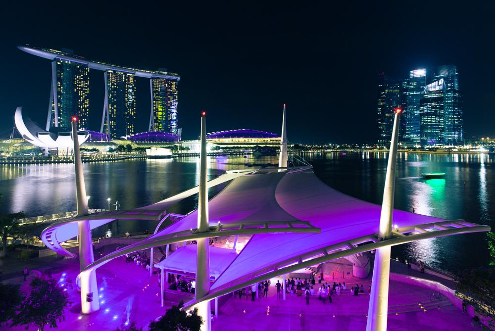 Достопримечательности Сингапура: Залив Марина Бей