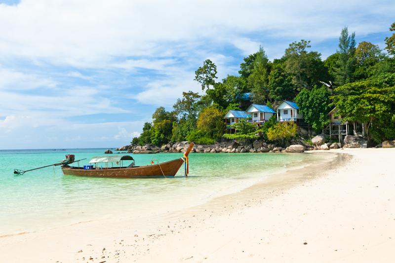 Пляж на острове Ко Липе, Таиланд