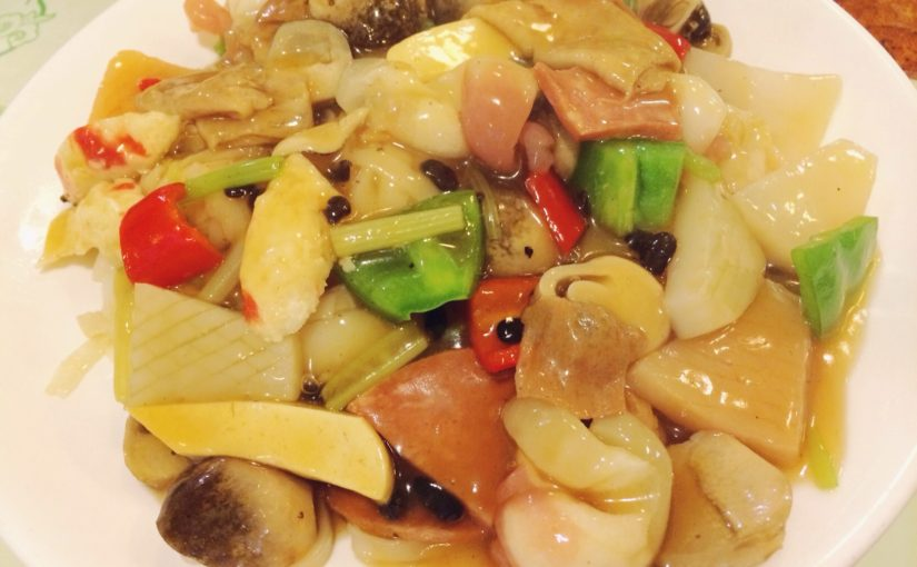 Искусство имитации. Вегетарианская еда в Китае.
