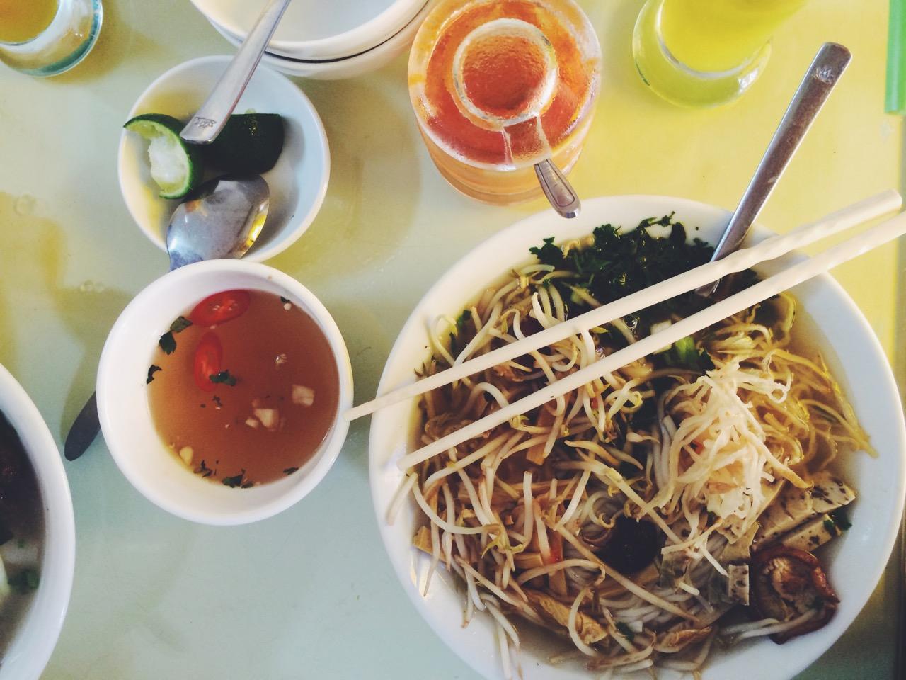 Путешествие по Вьетнаму, Ханой: Вьетнамская еда