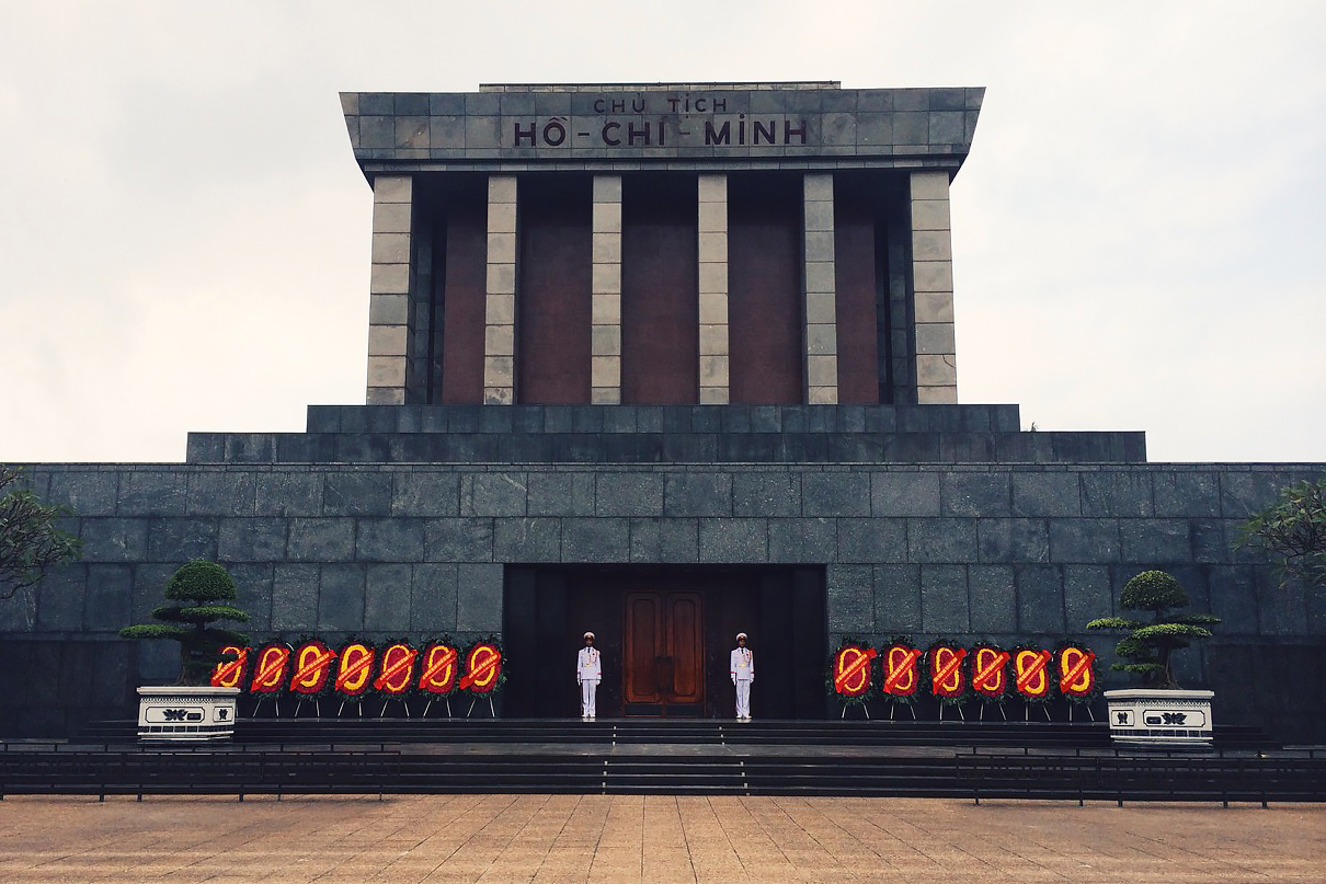 Путешествие по Вьетнаму, Ханой: Мавзолей Хошимина