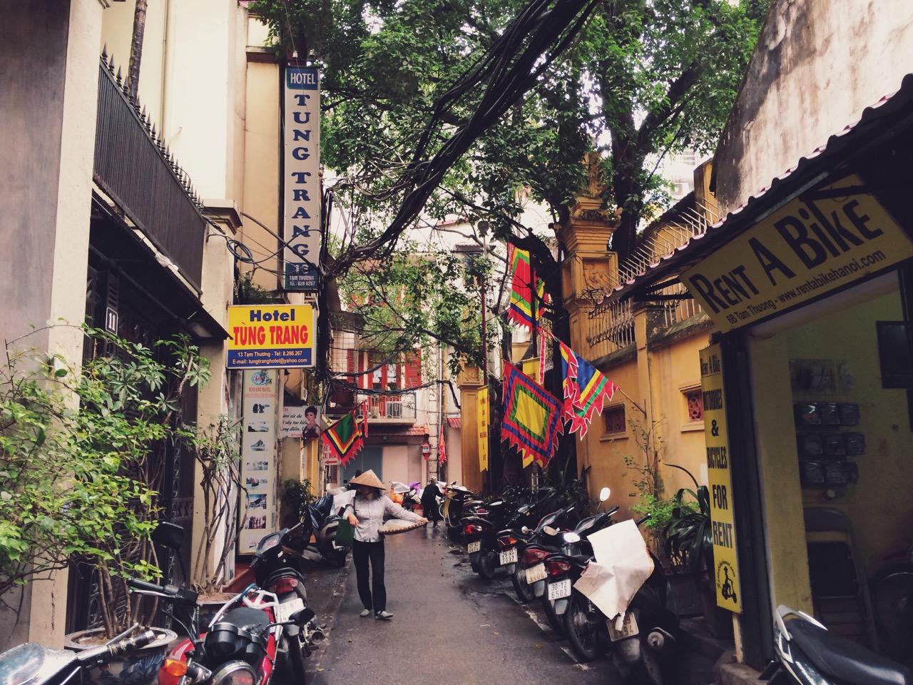 Путешествие по Вьетнаму, Ханой: Старый Квартал