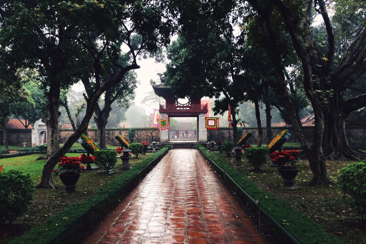 Путешествие по Вьетнаму, Ханой: Храм Литературы