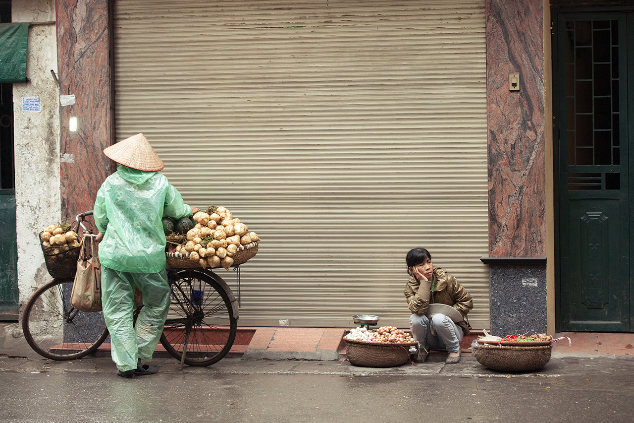 Путешествие по Вьетнаму, Ханой: Уличная торговля