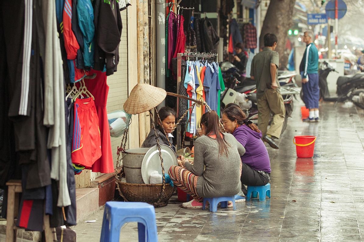 Путешествие по Вьетнаму, Ханой: Обед