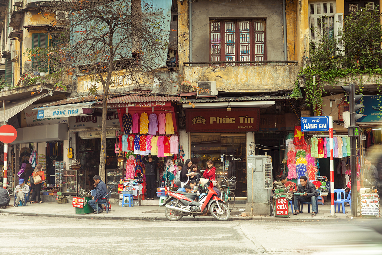 Путешествие по Вьетнаму, Ханой: Жизнь на улицах Старого Квартала