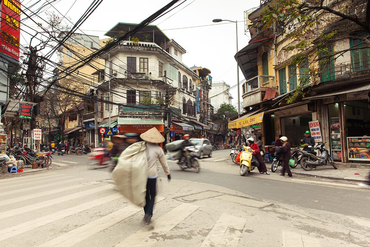 Путешествие по Вьетнаму, Ханой: Зимняя погода
