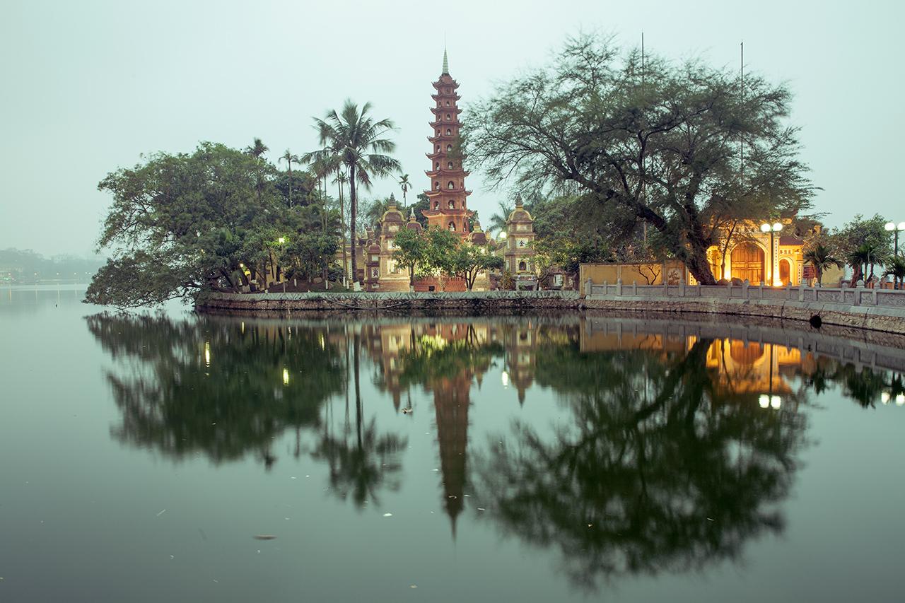 Путешествие по Вьетнаму, Ханой: Пагода Чанкуок