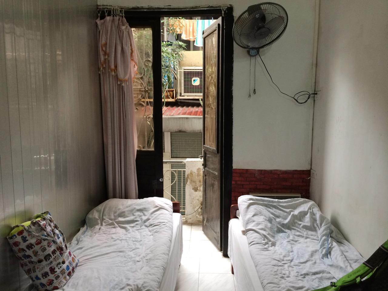 Путешествие по Вьетнаму, Ханой: Комната, которую мы очень долго ждали