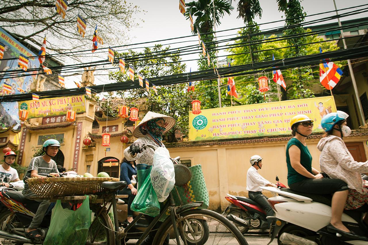 Путешествие по Вьетнаму, Ханой: В Старом Квартале