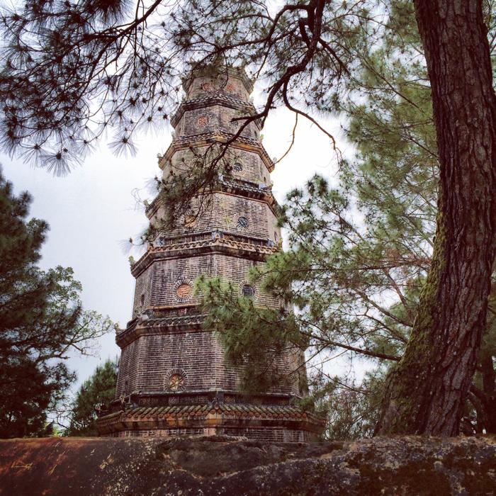 Город Хюэ, Вьетнам: пагода