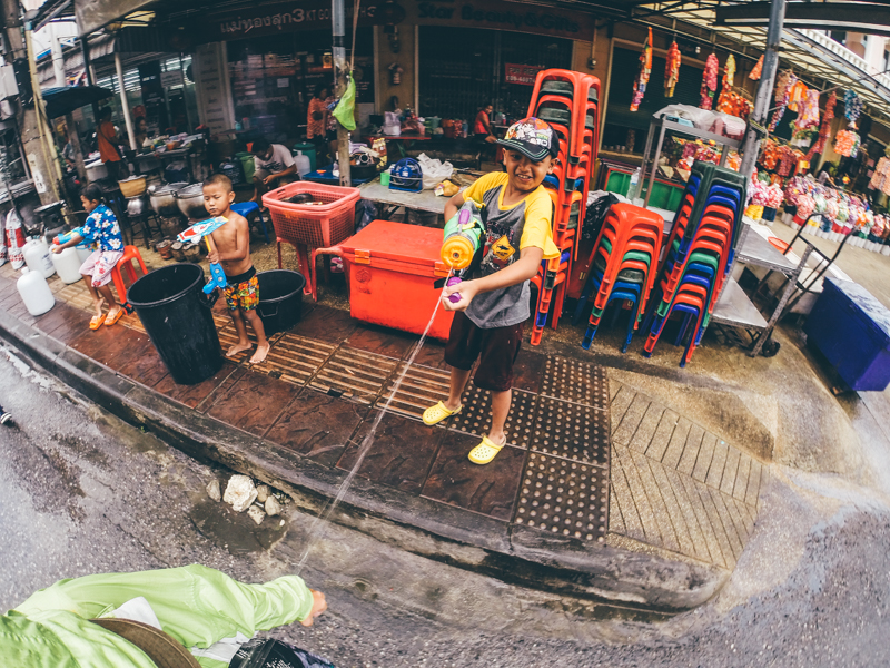 Тайский Новый год на Пхукете