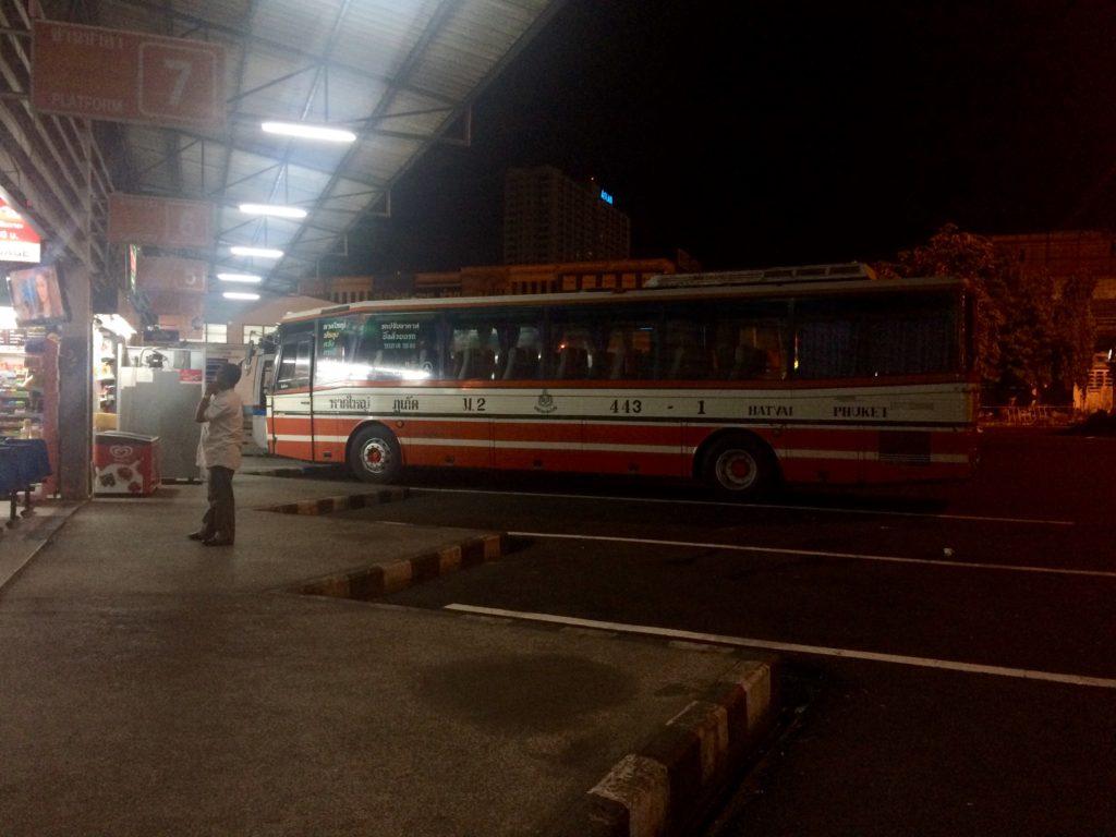Из Малайзии в Таиланд: Автобус идет на Пхукета, Краби - остановка на пути