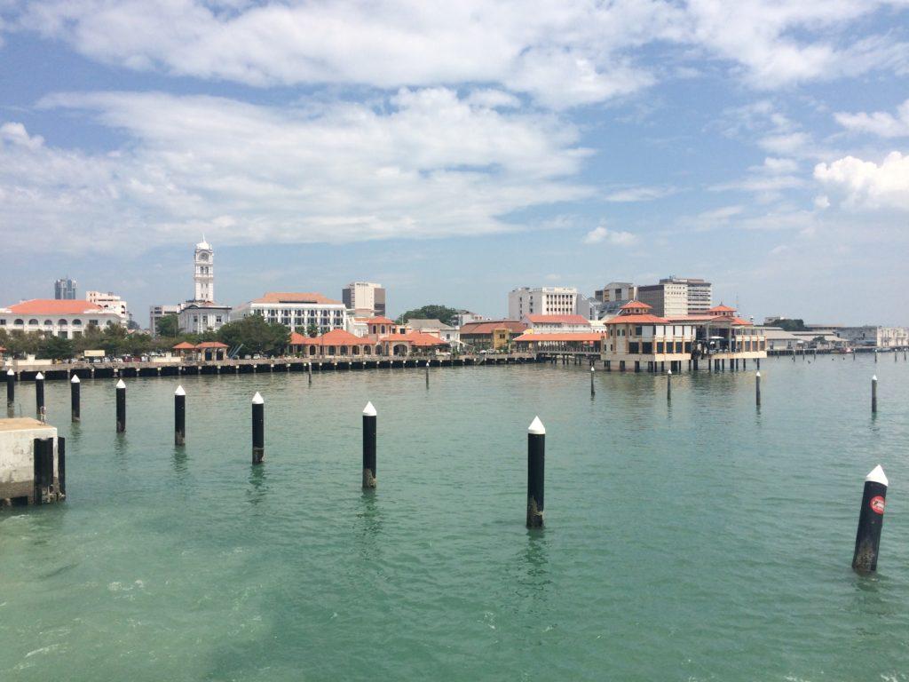 Из Малайзии в Таиланд: Причал Джоржтауна