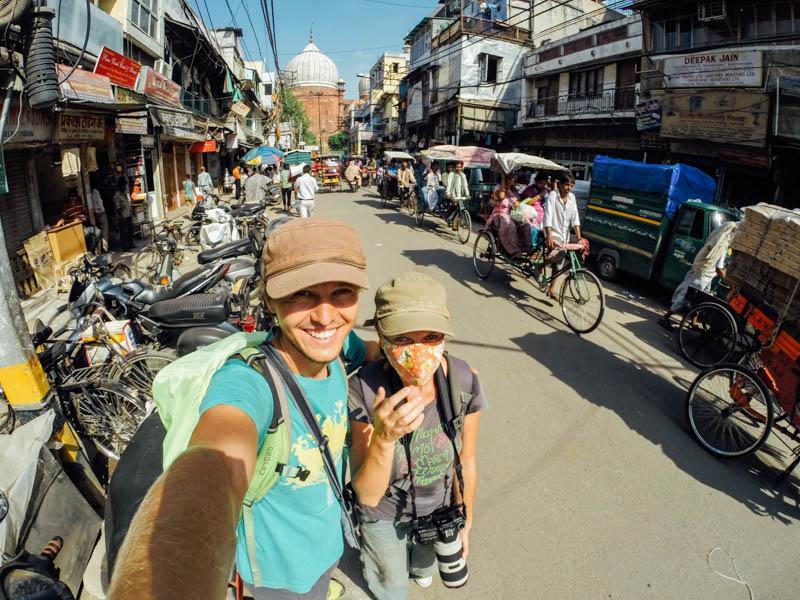 Путешествие по Индии: Мы в Дели