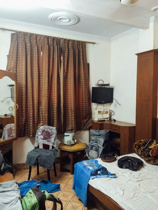 Путешествие по Индии: Наша комната
