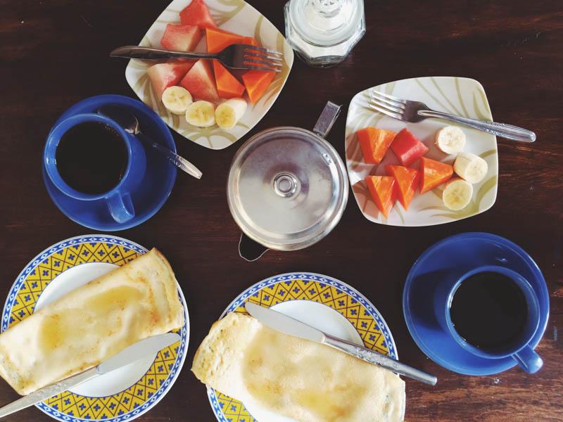 Бали для бюджетного туриста: Завтрак, включенный в цену бунгало