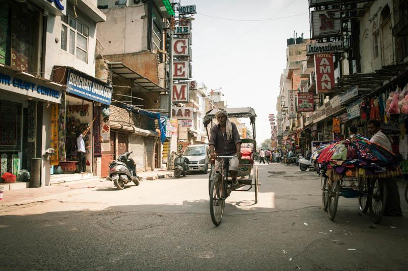 Путешествие по Индии: Район Paharganj