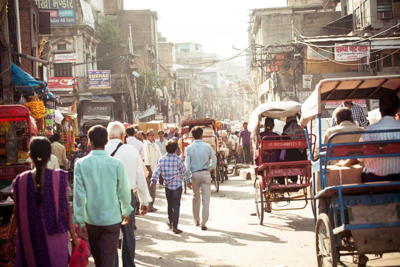 Путешествие по Индии: Улицы Дели