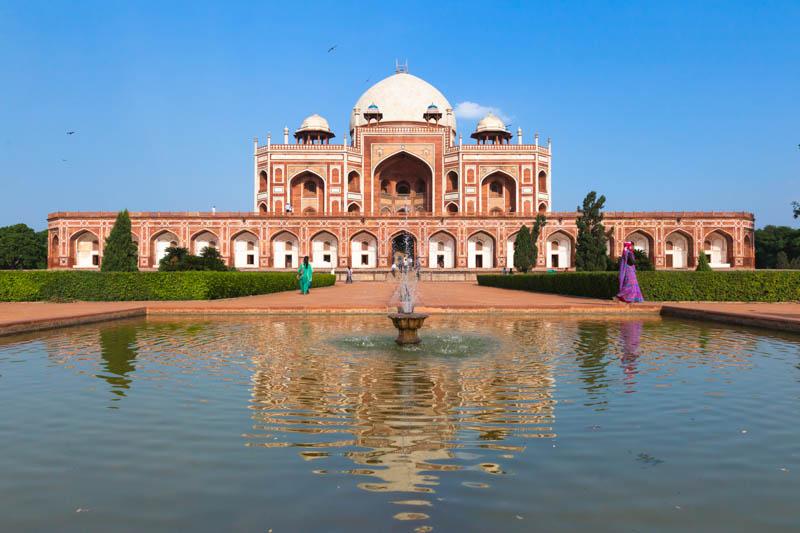 Путешествие по Индии: Гробница Хумаюна