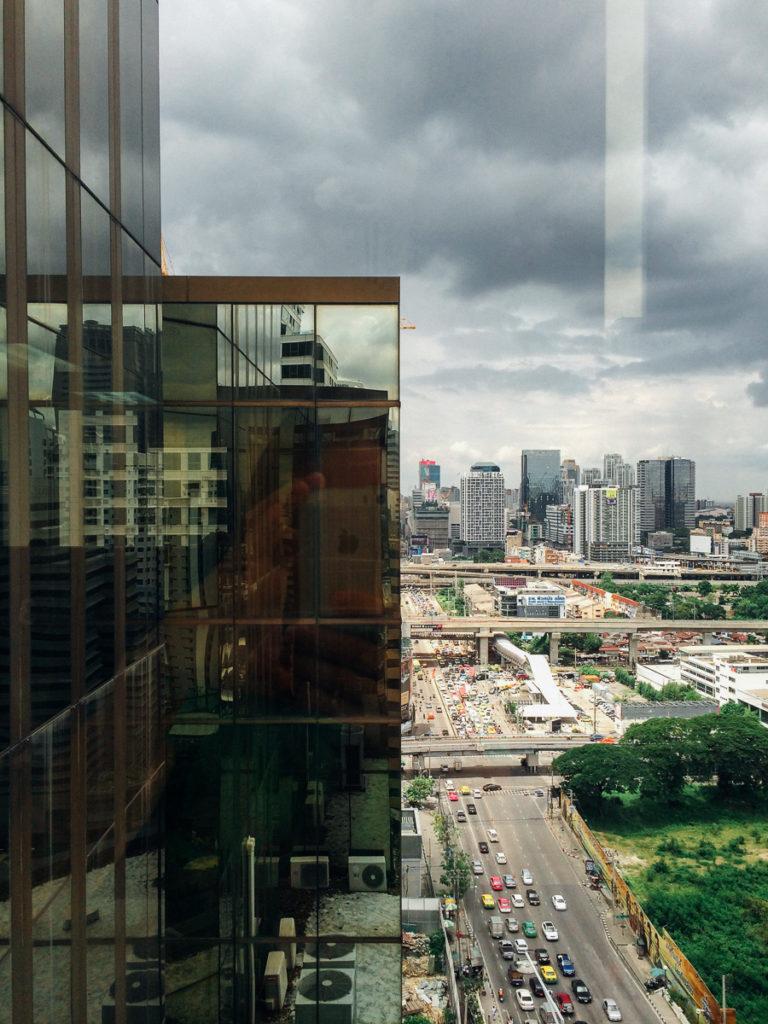 Виза в Индию в Бангкоке: Вид из окна визового центра
