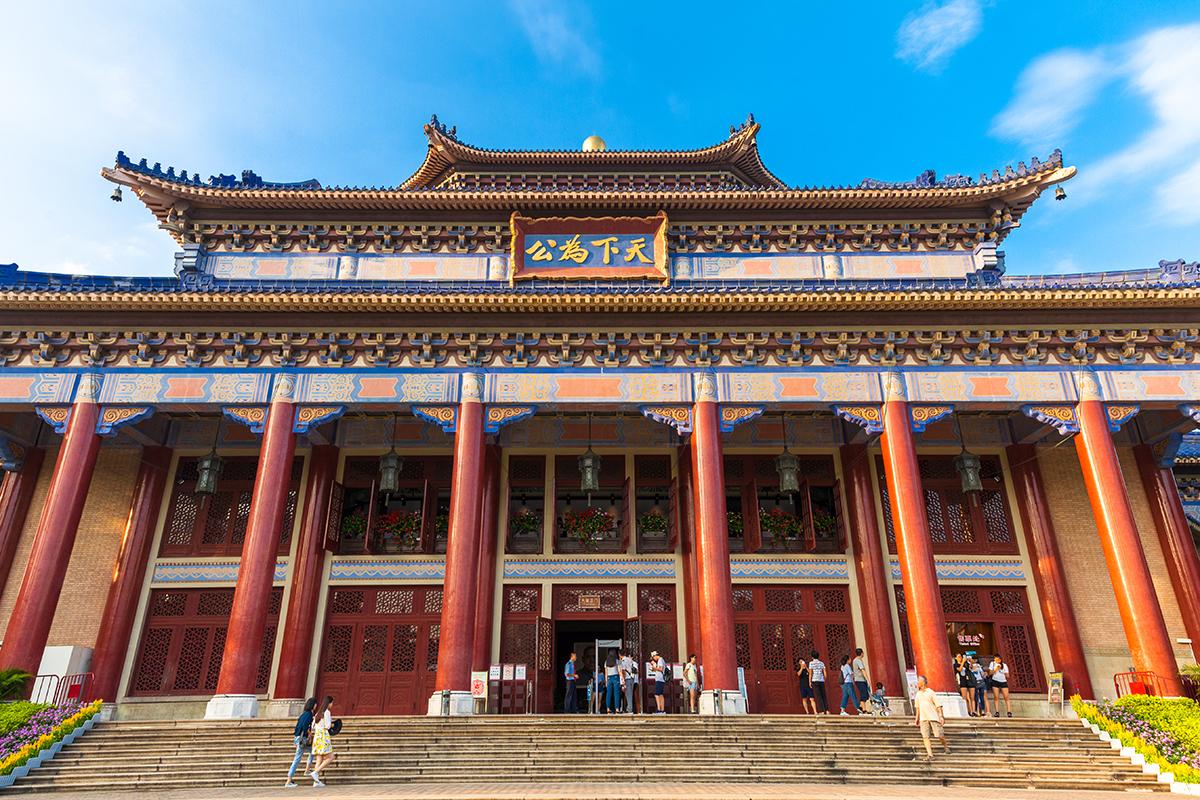 Безвизовый транзит в Гуанчжоу: мемориал Сун Ят-Сена в Гуанчжоу