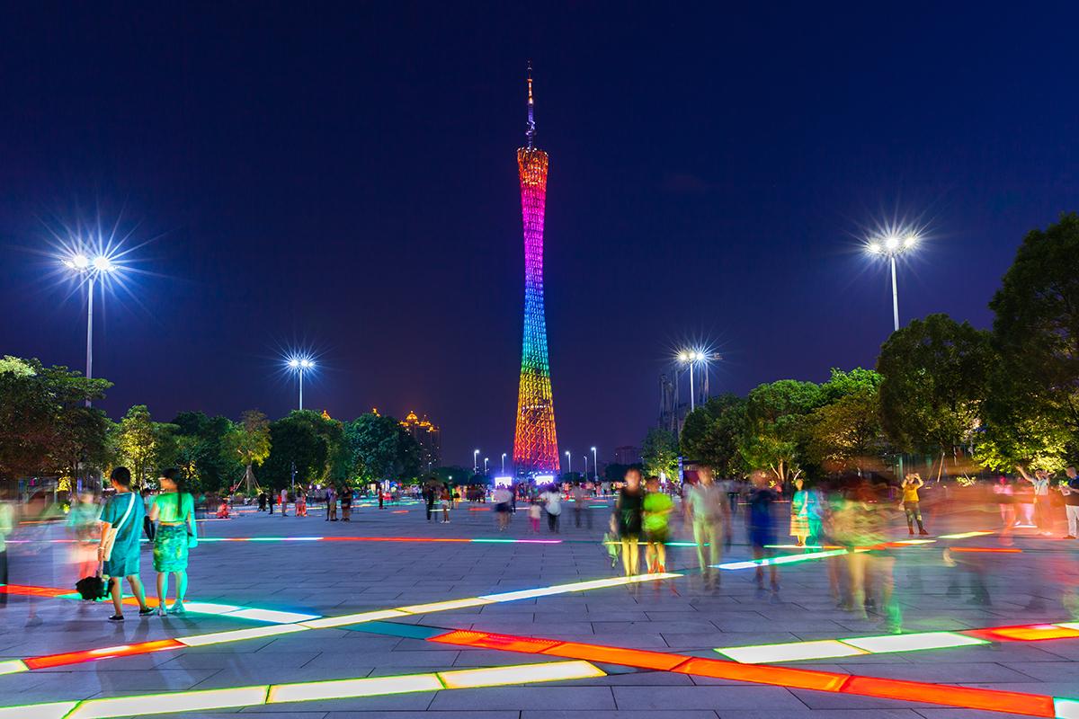 Безвизовый транзит в Гуанчжоу: Кантонская башня
