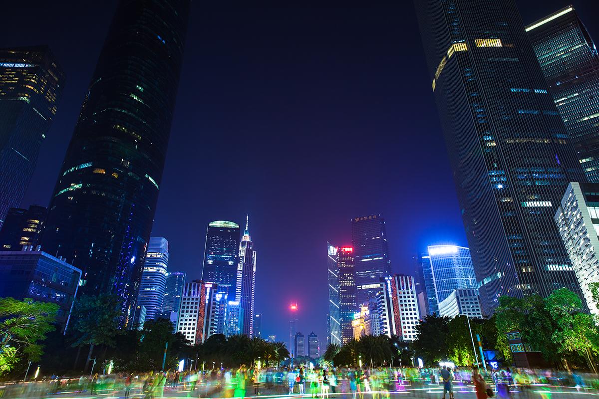 Безвизовый транзит в Гуанчжоу: Площадь цветов — деловой центр Гуанчжоу
