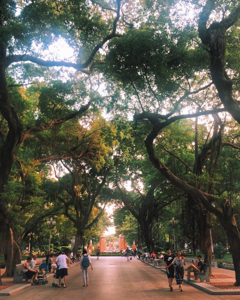 Безвизовый транзит в Гуанчжоу: красивые парки Гуанчжоу
