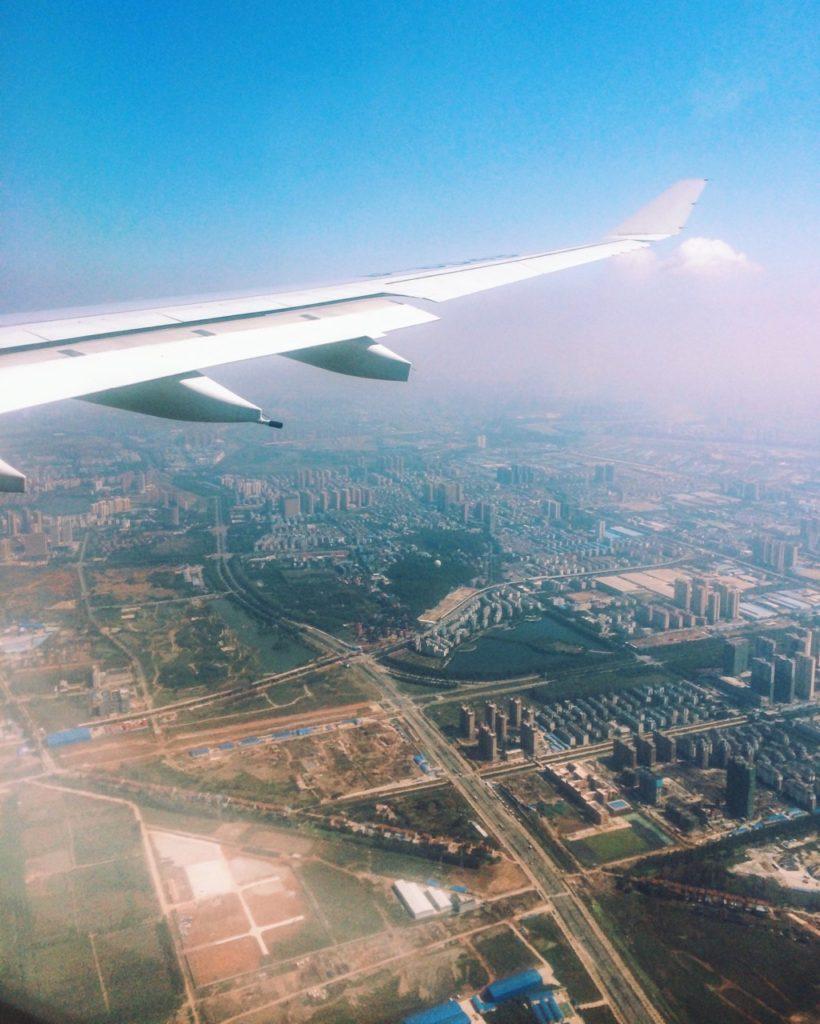 Безвизовый транзит в Гуанчжоу: Посадка в Ухани, Китай