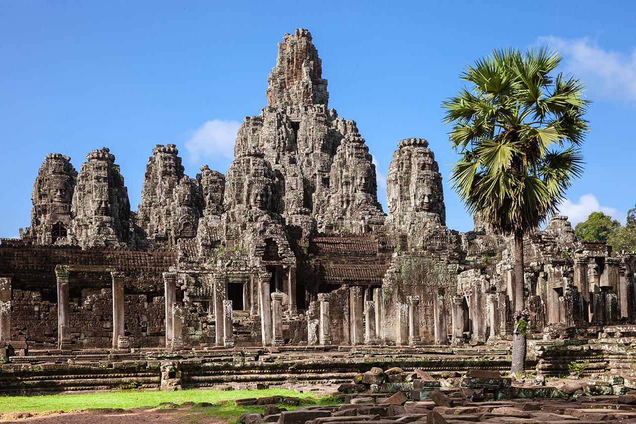 Путешествие по Камбодже: Байон