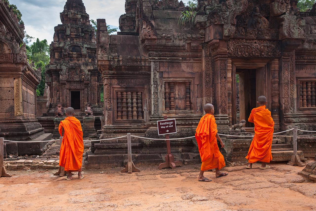 Путешествие по Камбодже: Бантей Срей